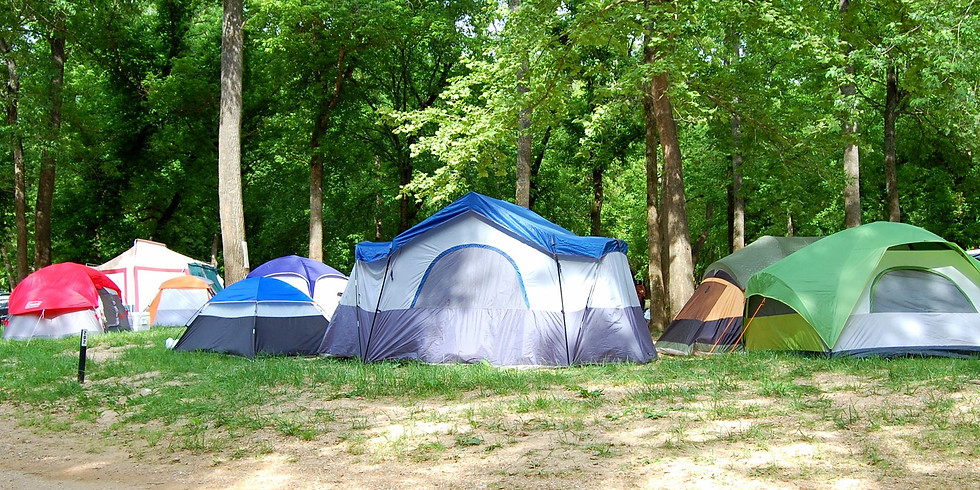 Camping on the Shenandoah at Campsites #1 and #2