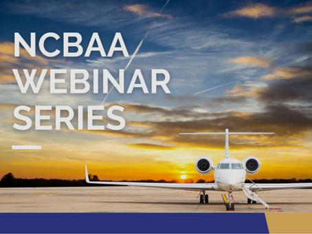NCBAA's Small Flight Dept Webinar: Panelists Christy DeYoung, David Norton and John Clark