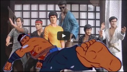 Game of Death Motion Graphics