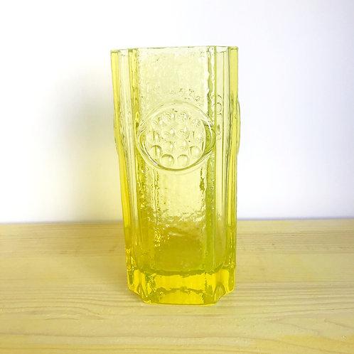 Glass vase from Finnish designer Tamara Aladin