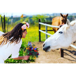 The prince who fell off a white horse#wedding #weddings#weddingpictures #bouquet #bride #flower #flo