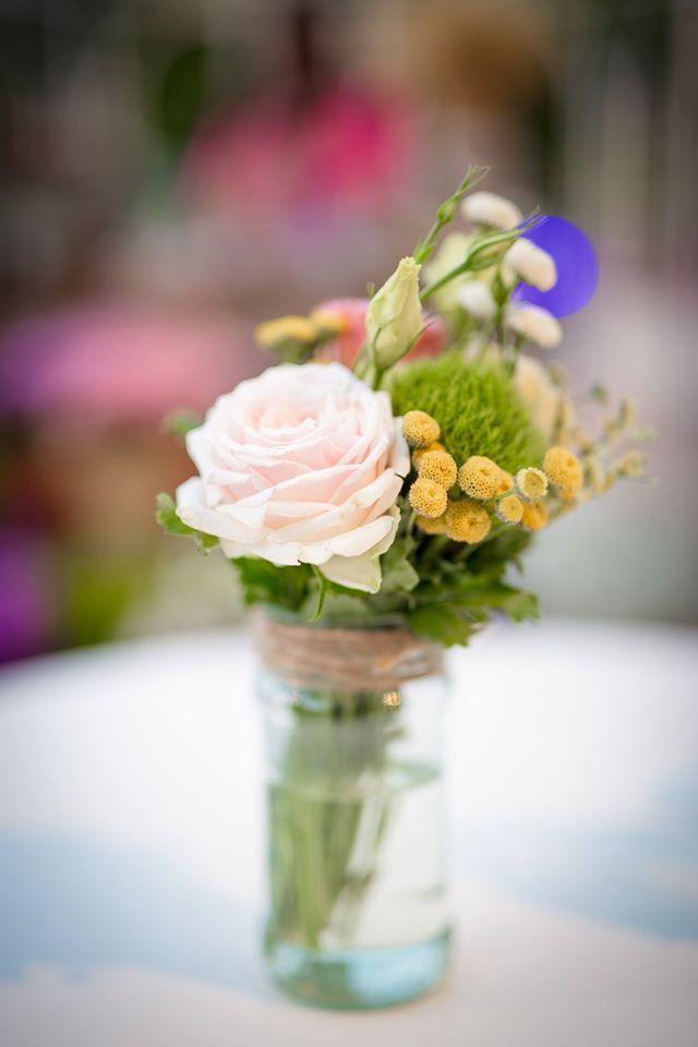 צנצנת פרחים