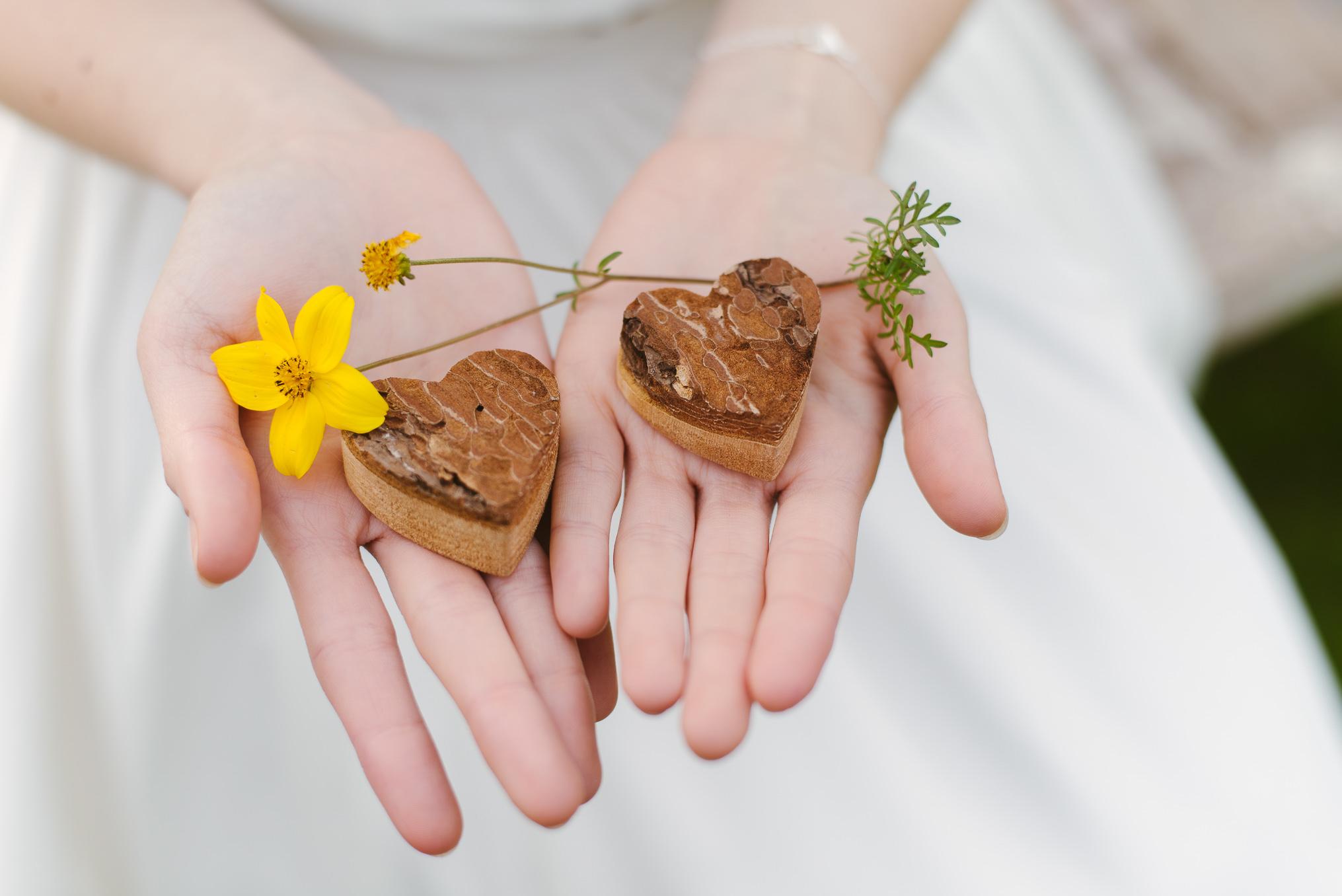 לבבות שוקולד