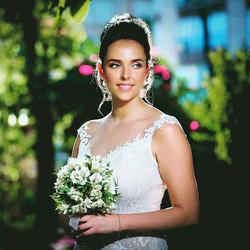 זר כלה אלסטרומריה #weddingflowers