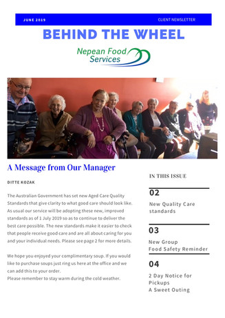 June 2019 Newsletter!