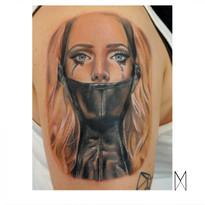 Enya Mahuta, Orlando Tattoo shop, custom tattoo, florida tattoo artist, Realistic tattoo, realism tattoo, Portrait Tattoo
