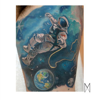 Cosmonaut Tattoo