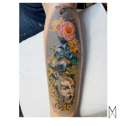 Enya Mahuta, Orlando Tattoo shop, custom tattoo, florida tattoo artist, Realistic tattoo, realism tattoo