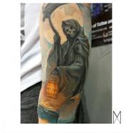Death Reaper Tattoo