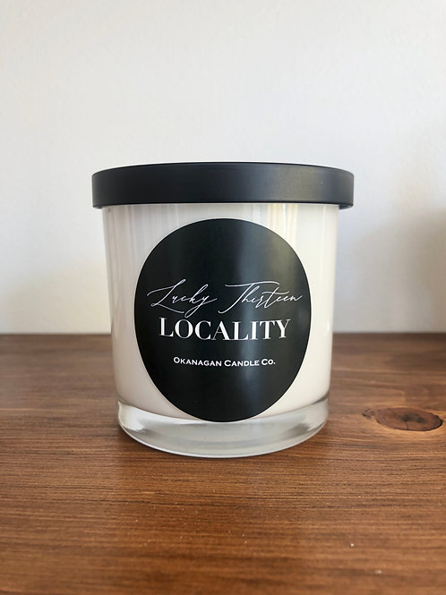Okanagan Candle Co x LOCALITY Custom Soy Candle