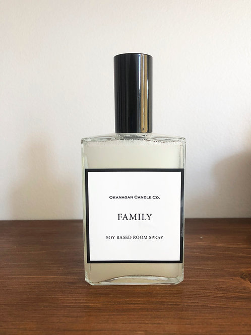 Okanagan Candle Co. Soy Room Spray 'Family'