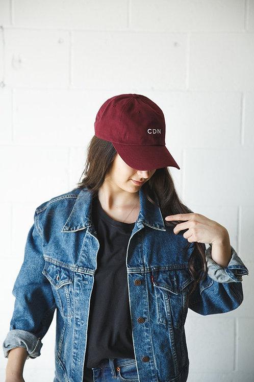 CDN Maroon Classic Dad Hat