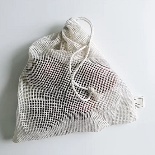 Market Bags Organic Cotton Large Mesh Produce Bag