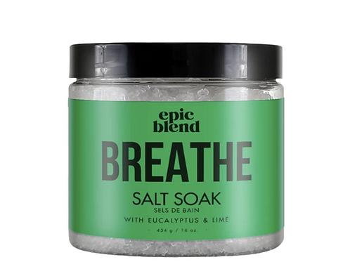 Epic Blend 'Breathe' Salt Soak 16oz