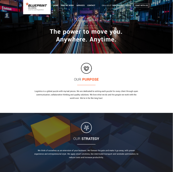 BluePrint Global Website