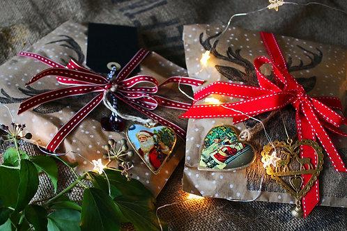 Christmas stag gift bag