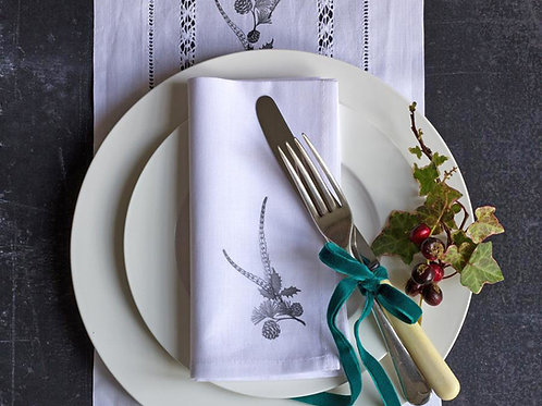 Handmade country Christmas napkin