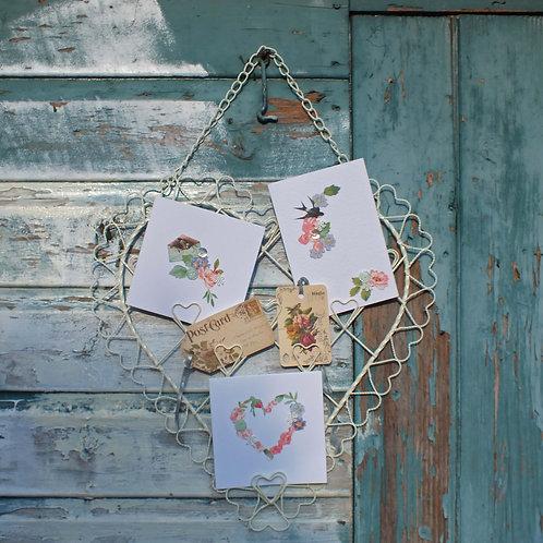Wedding decor heart online UK