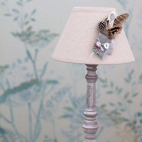 Festive Owl & Mistletoe Feather Corsage