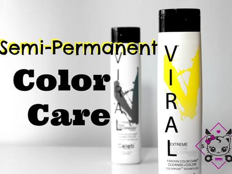 Viral Shampoo Semi-Permanent Color Care