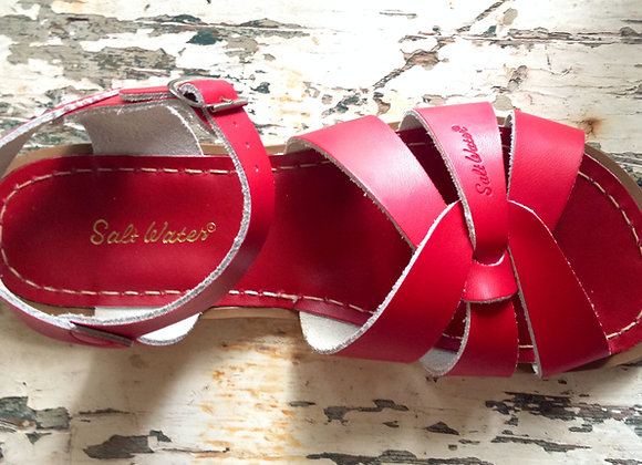 Salt Water Sandals red