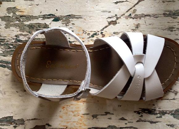 Salt Water Sandals white