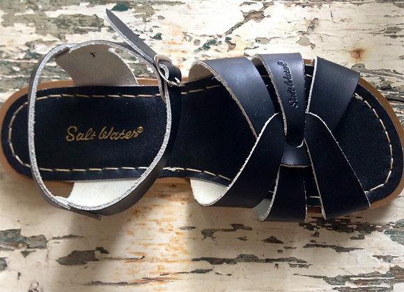 Salt Water Sandals black