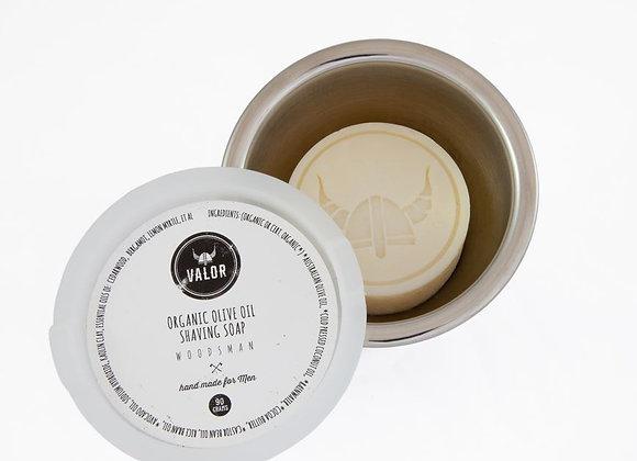 VALOR Shaving Soap - Woodsman