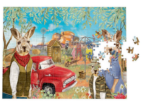 Sunny Outback Mischief 1000 piece puzzle