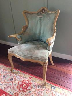 Silk Louis Chairs