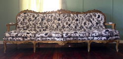 Antique 4 seater Argentine couch