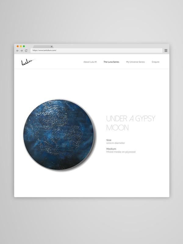 Luna Art Piece Web