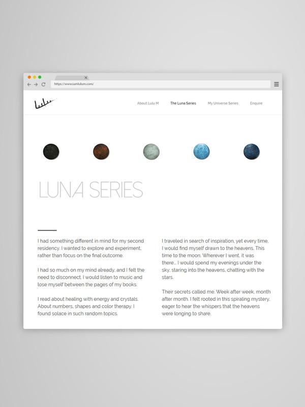 Luna Series Web