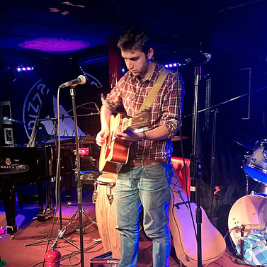 Pizza Express Soho Gig supporting Niji