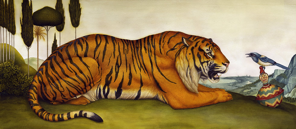 Tiger & Bird - Giclee Limited Edition (50)