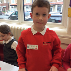 School Council in Year 3