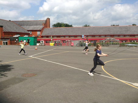 Sports Afternoon in Year 3