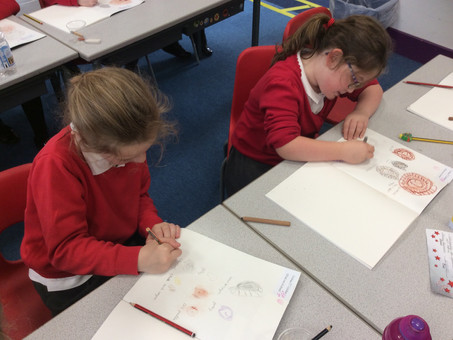 Sketching in Year 3