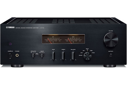 Yamaha A-S1100 Integrated Amplifier and Receiver (Black/Piano Black)