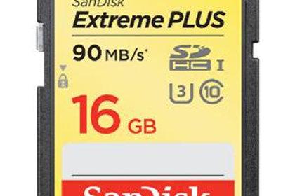 SanDisk 16GB Extreme UHS-I SDHC Memory Card