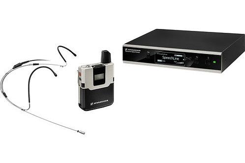 Sennheiser SpeechLine Digital Wireless SL Headmic Set DW-4-US R Wireless Mic wit