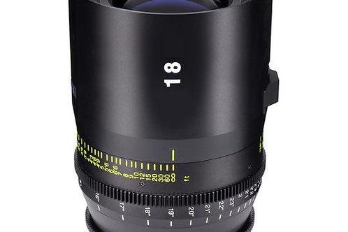 Tokina 18mm T1.5 Vista Cinema Prime Lens