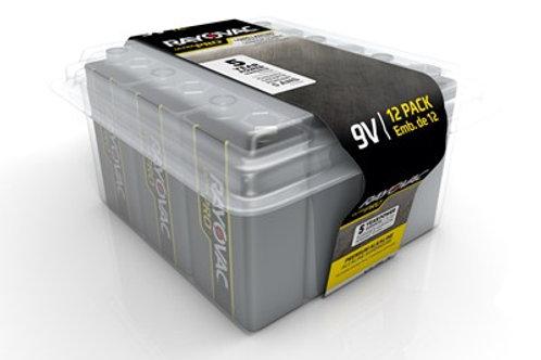 RAYOVAC Ultra Pro 9V Battery (12-Pack)