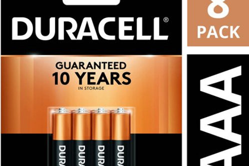 Duracell CopperTop AAA 8 Count