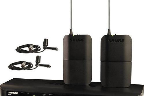 Shure BLX188/CVL Dual-Channel Dual Lavalier Wireless Mic System
