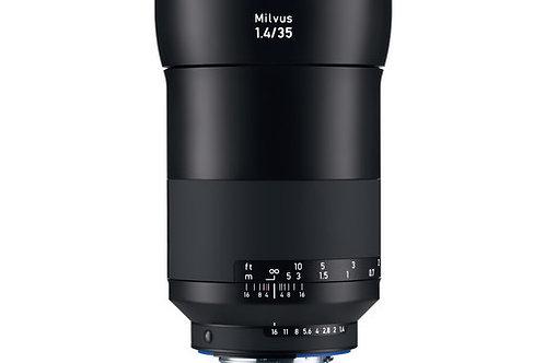 ZEISS Milvus 35mm f/1.4 ZF.2 Lens for Nikon F