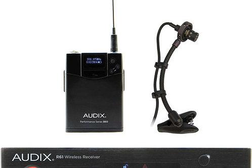 Audix AP61 SAX R61 Single-Channel True Diversity Receiver with Bodypack Transmit