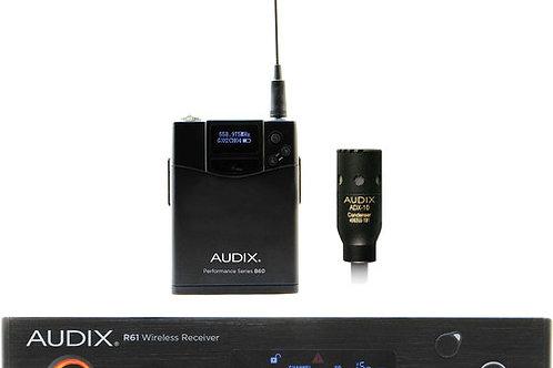 Audix AP61 L10 R61 Single-Channel True Diversity Receiver with Bodypack Transmit
