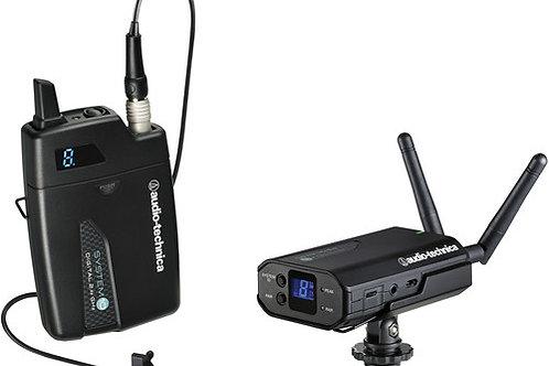 Audio-Technica ATW-1701/L System 10 Digital Camera-Mount Wireless Omni Lavalier