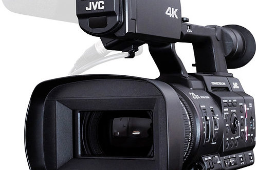 """JVC GY-HC500USPCU Handheld Connected Cam 1"""" 4K Professional Camcorder"""